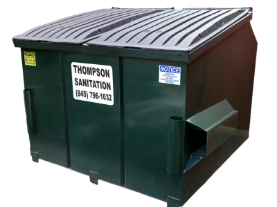 Thompson sanitation dumpster